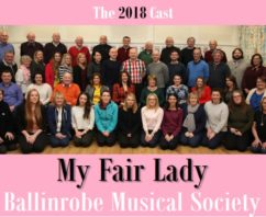 Introducing the Cast of 2018's production of My Fair Lady