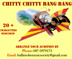 Auditions for Chitty Chitty Bang Bang – 09th September 18
