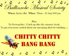 BMS – Get-Together 9pm Inches Bar 30 Aug